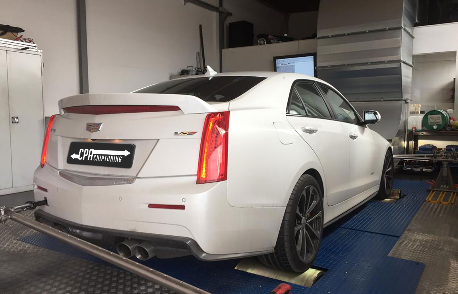 Aumento de potência do Cadillac ATS 3.6 V6 Twin Turbo