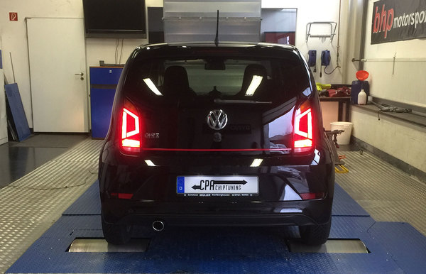 Chiptuning for the VW UP GTI leia mais
