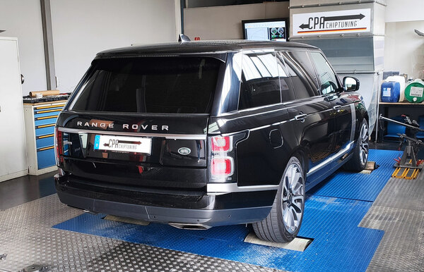 Land Rover Range Rover V8 Supercharged Chiptuning leia mais