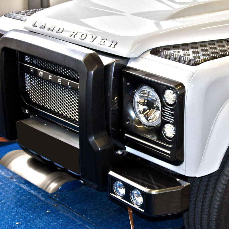 Chiptuning Land Rover Defender leia mais